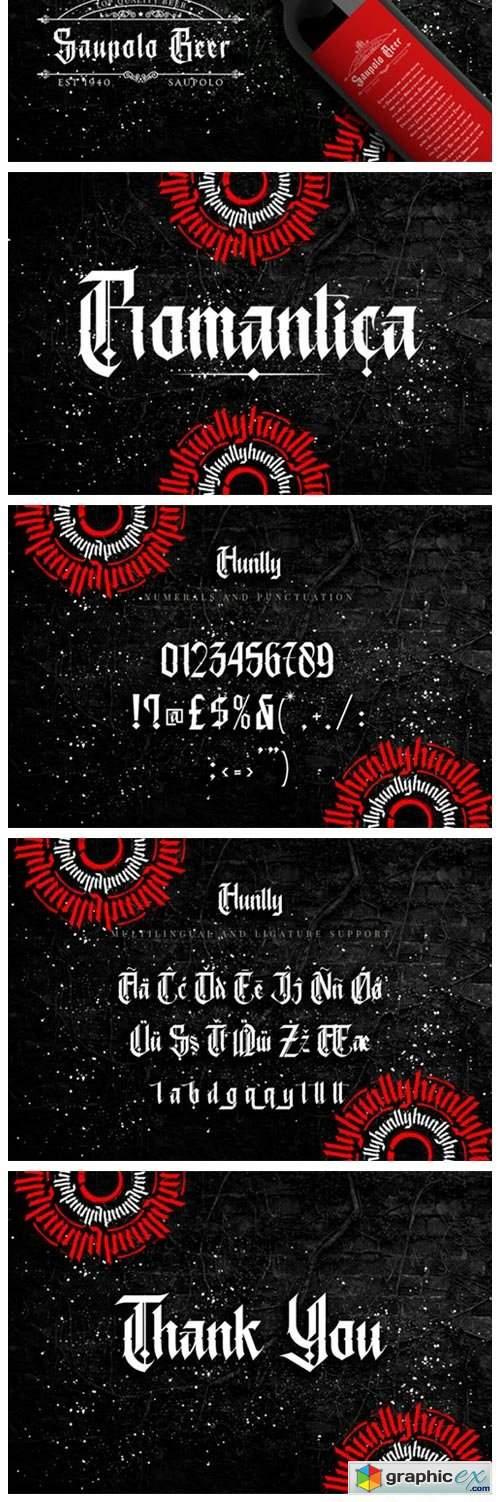 Huntly Font