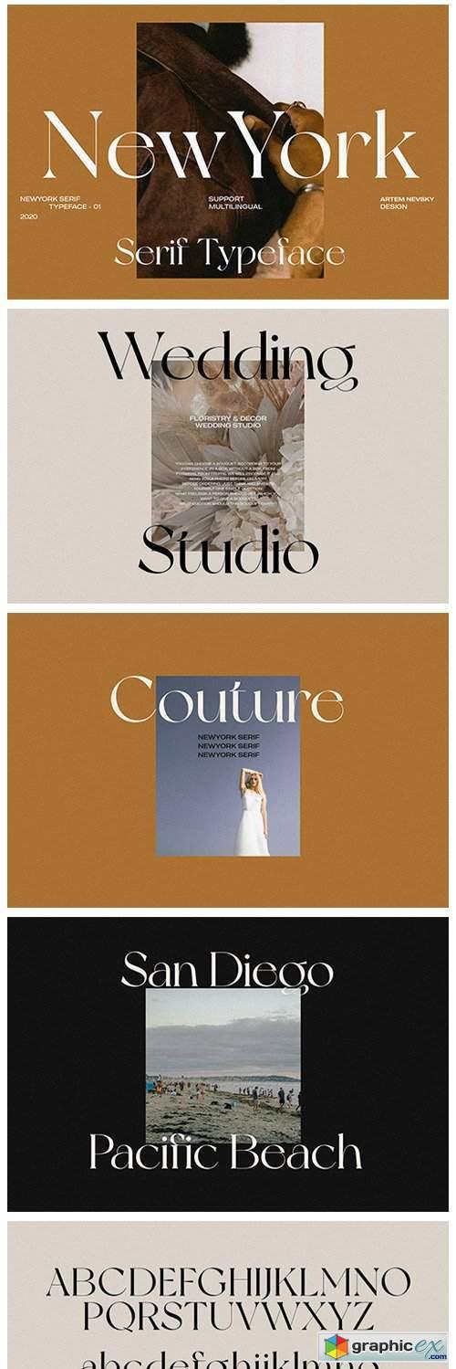 NewYork Typeface