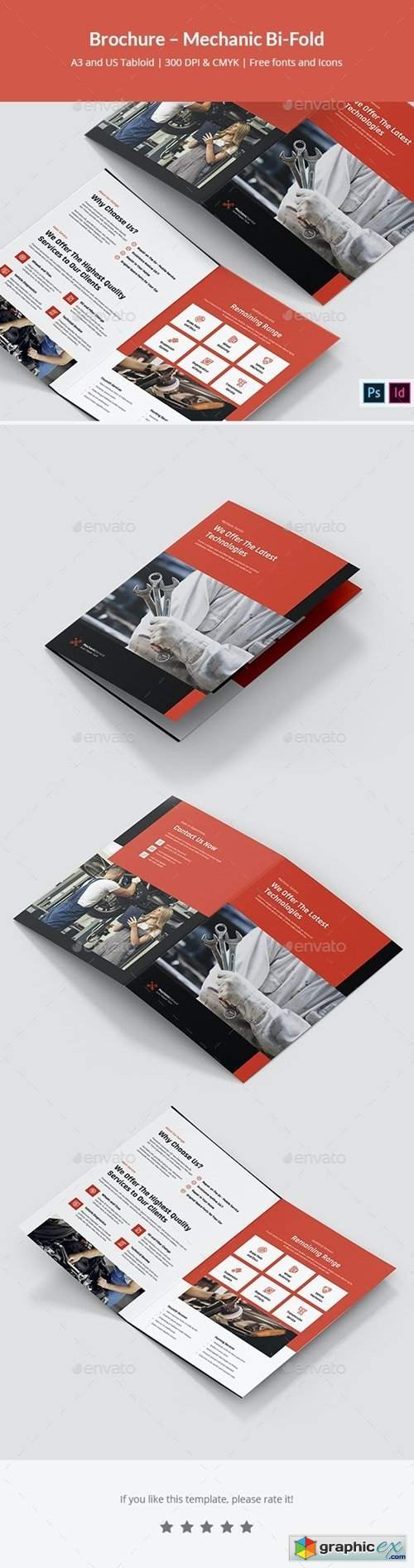 Brochure – Mechanic Bi-Fold