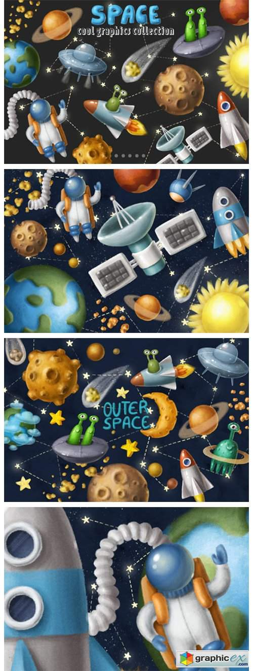 Space Objects Collection 4672624