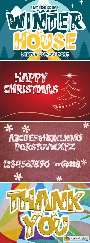 Winter House Font