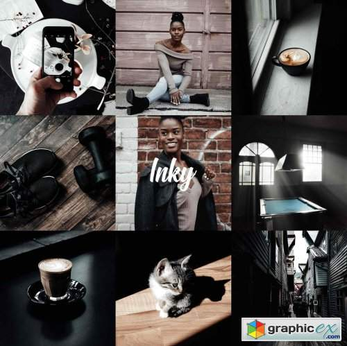 Inky Collection - Desktop & Mobile