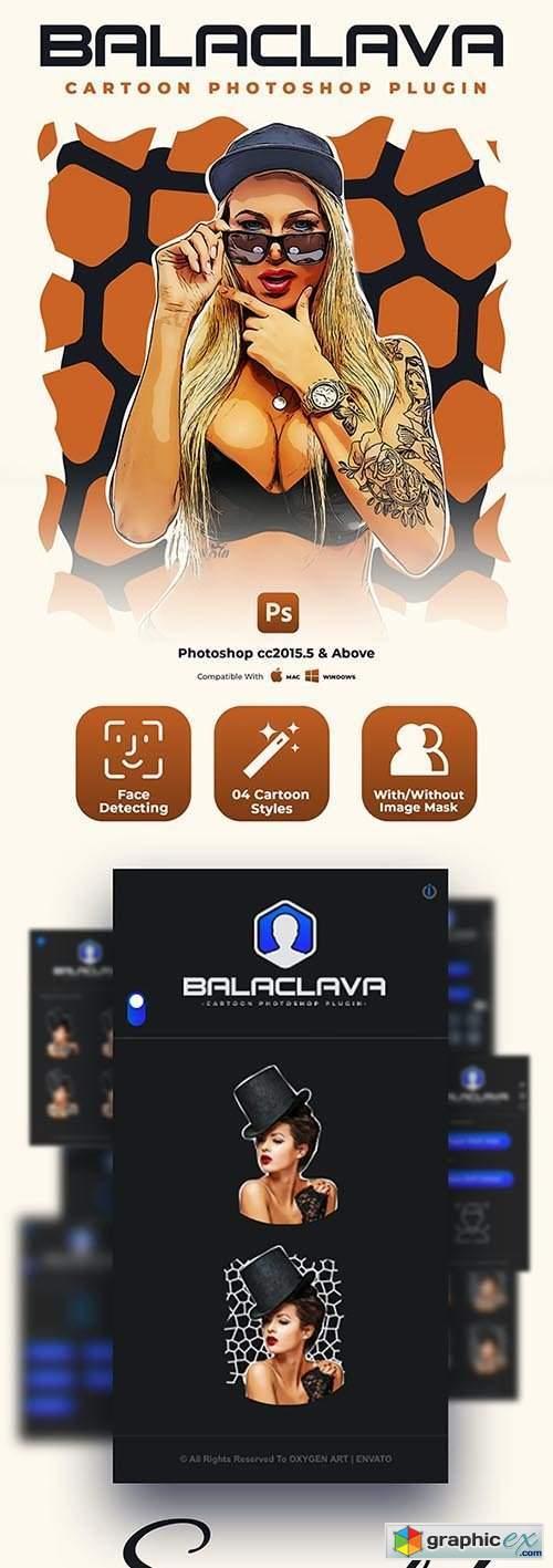 Balaclava - Cartoon Photoshop Plugin