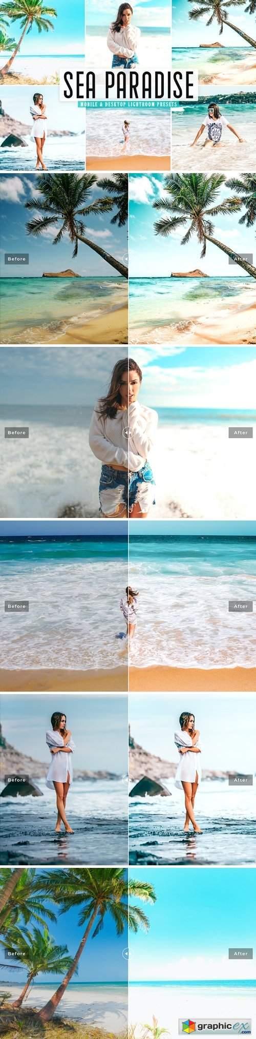 Sea Paradise Mobile & Desktop Lightroom Presets