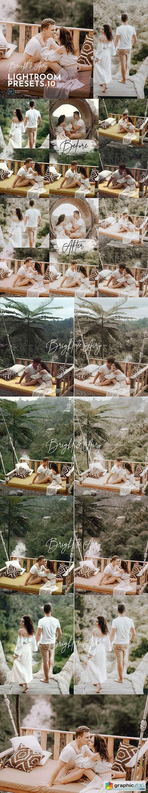 Bright & Airy Wedding Preset Pack