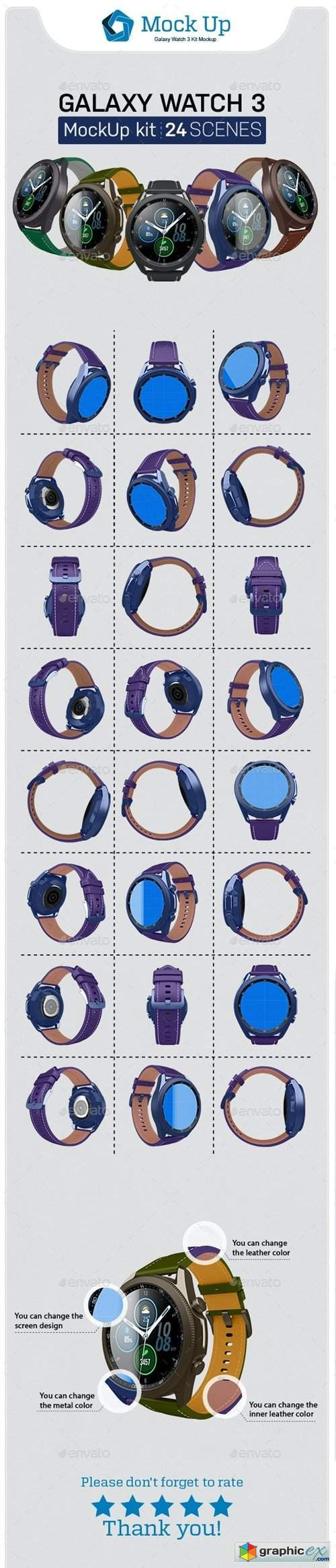 Smart Watch 3 Kit