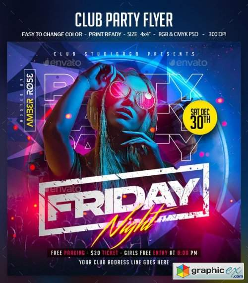 Club Party Flyer 28938463