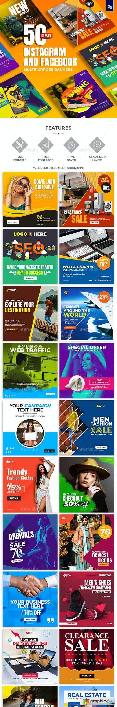 50-Instagram & Facebook Banners 28665627