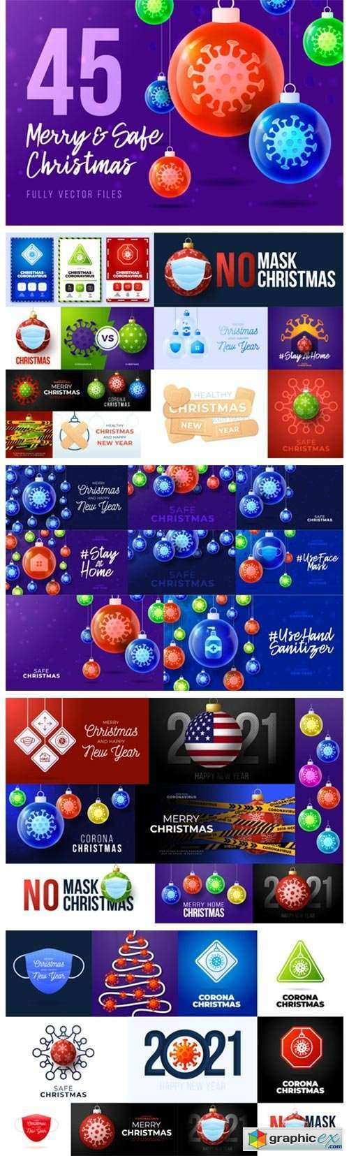 45 Merry and Safe Christmas Banners