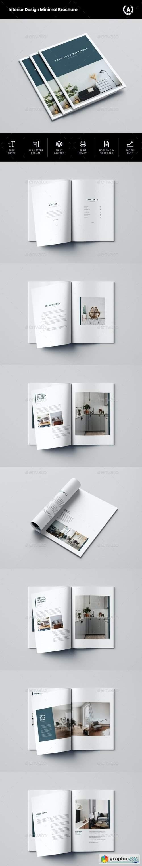 Interior Design Minimal Brochure