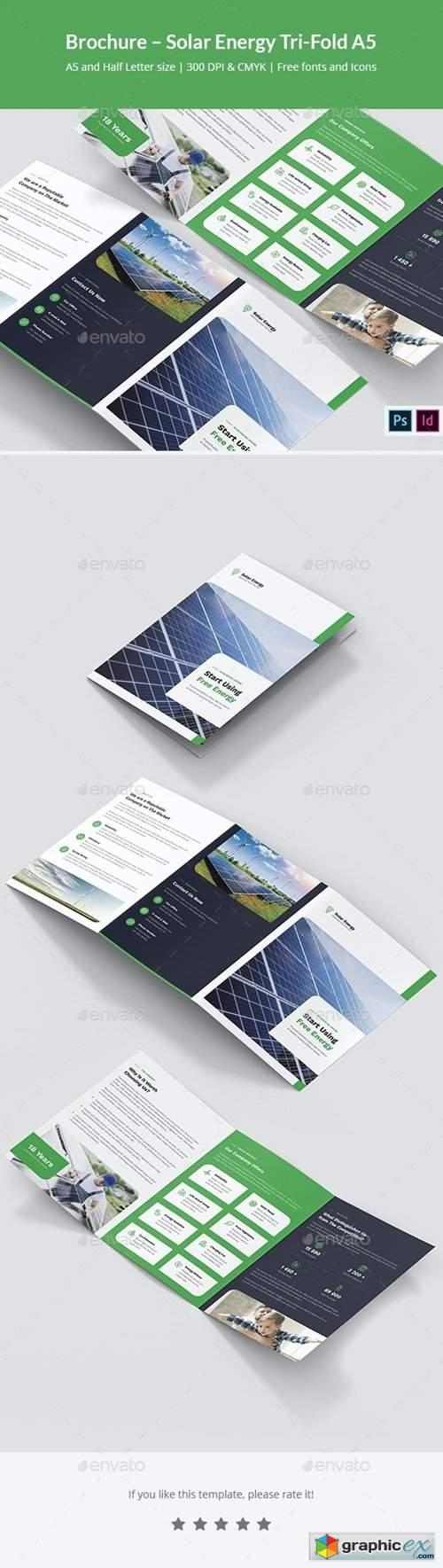 Brochure – Solar Energy Tri-Fold A5 29137838