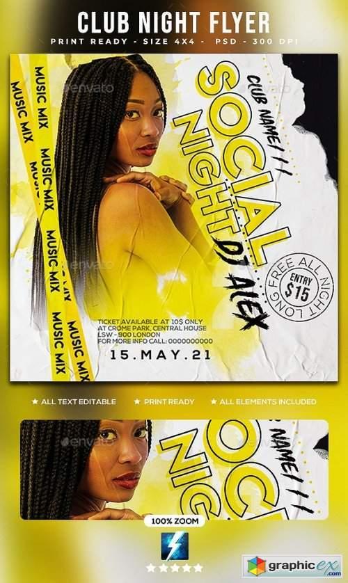 Club Night Flyer 28784722