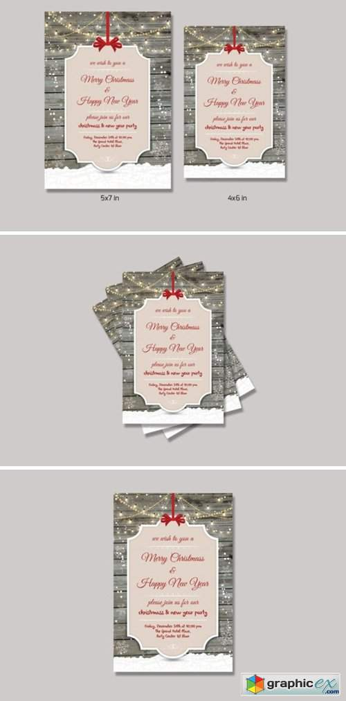 Christmas Invitation Flyer 6560610