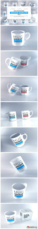 Realistic Mug Mockup Bundle Vol 1