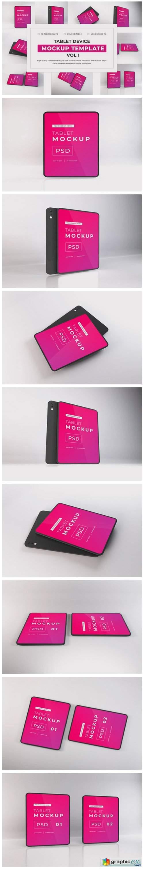 Tablet Device Mockup Bundle Vol 1