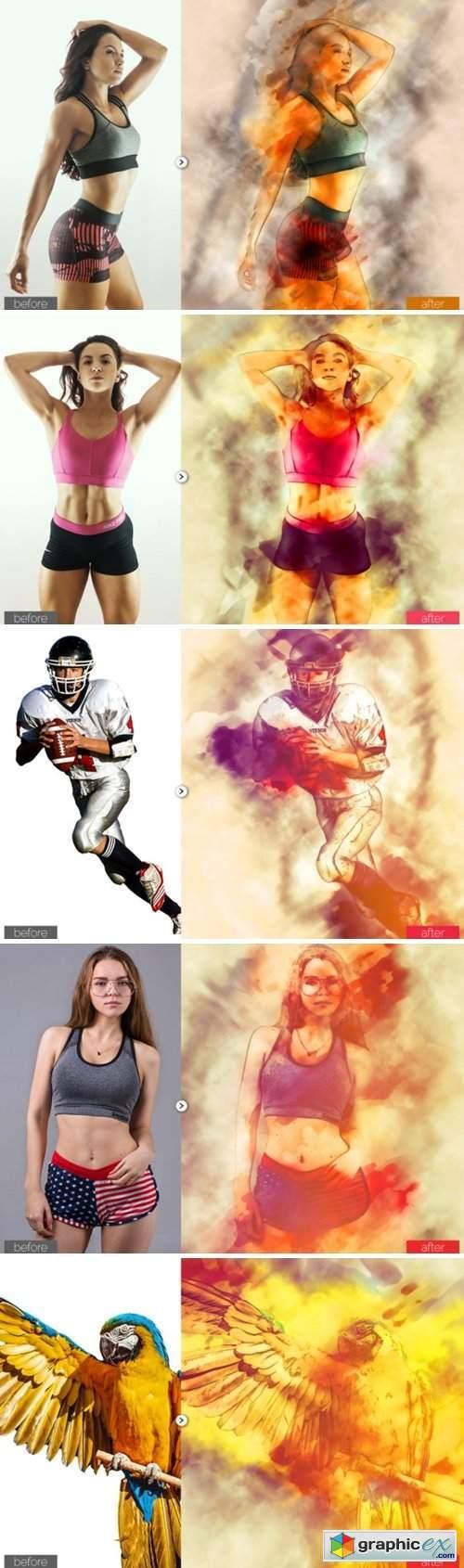 Digital Paint Photoshop Action