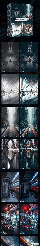 25 Cinematic Photoshop Actions