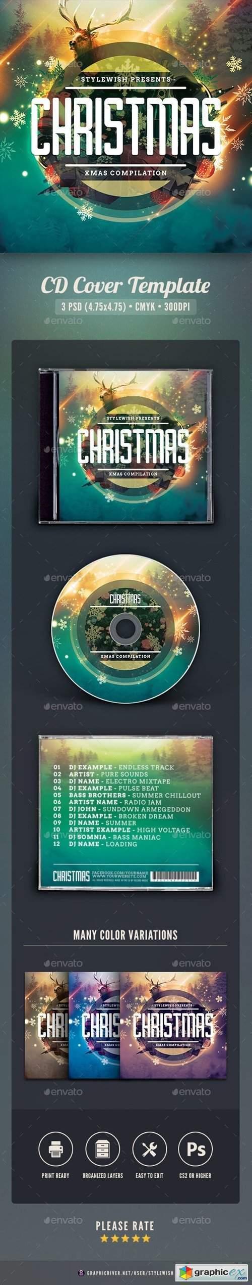 Christmas CD Cover Artwork