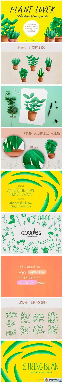 Plant Lover Illustrations