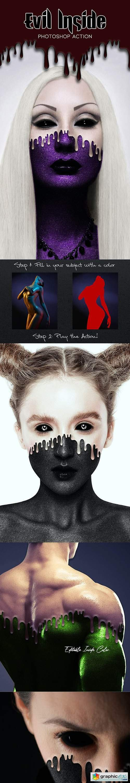 Evil Inside Photoshop Action