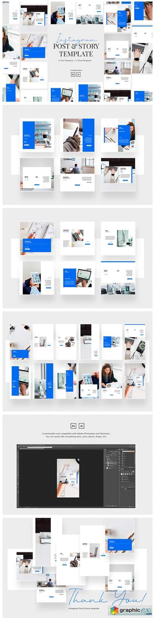 Elegant Business Instagram Template