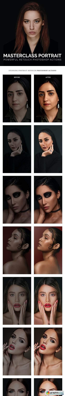Masterclass Portrait Photoshop Actions