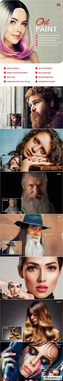 Oil Art Photoshop Action 28917188