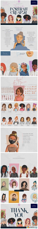 Female Portrait Creator - PS Edition