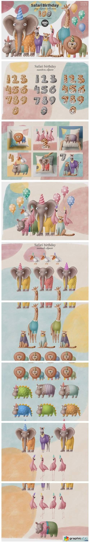 Birthday Animals 100+ Collection