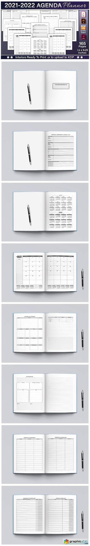 2021-2022 Agenda Planner Template