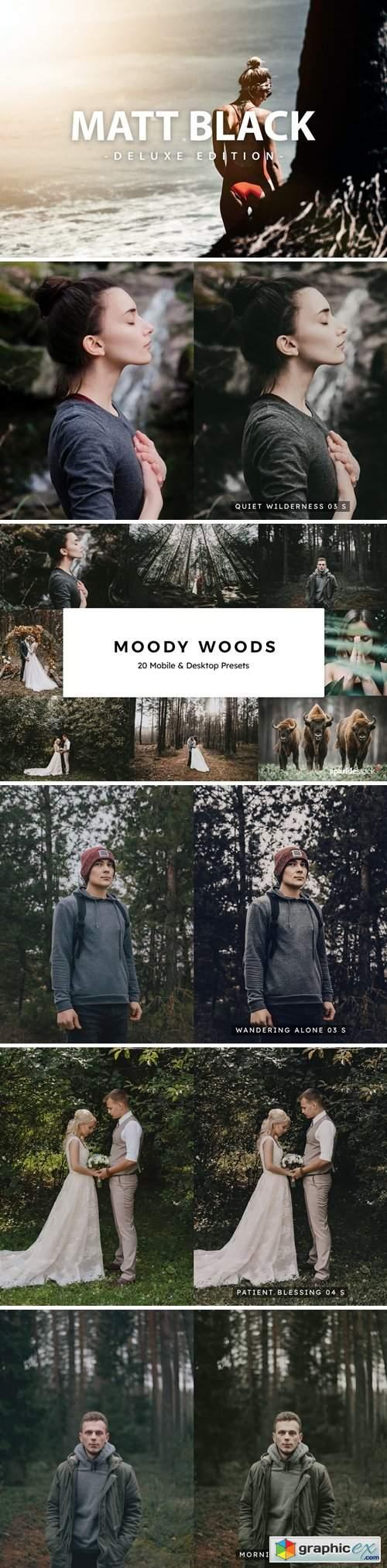 20 Moody Woods Lightroom Presets & LUTs