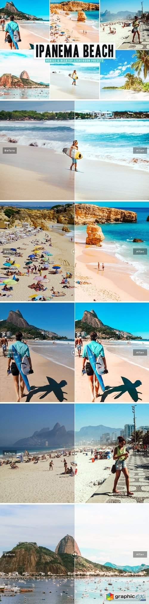 Ipanema Beach Mobile & Desktop Lightroom Presets
