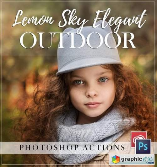 Lemon Sky Outdoor Photoshop Action Suite
