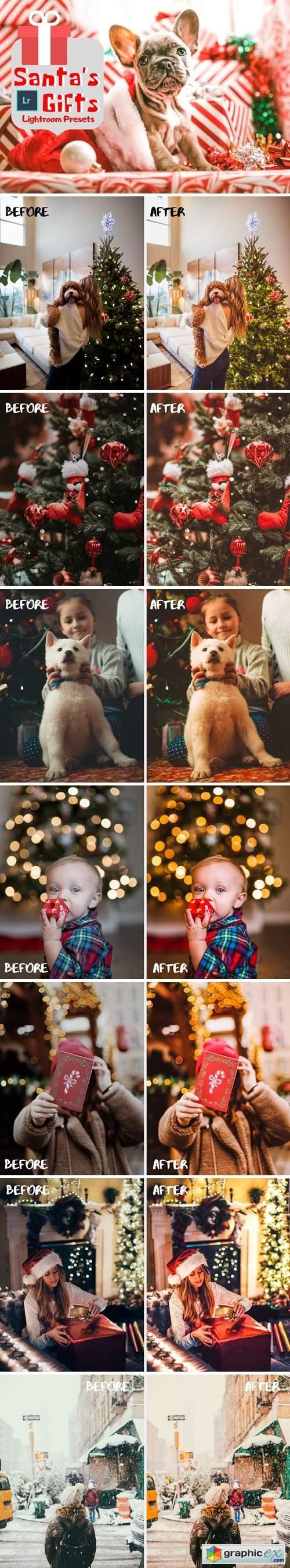 Santa's Gifts Lightroom Presets 4320221