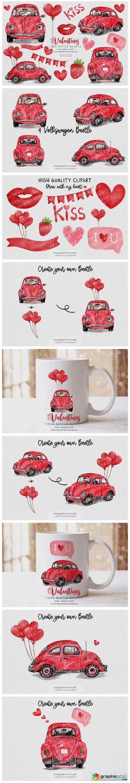 Valentine's Day Clipart Bundle