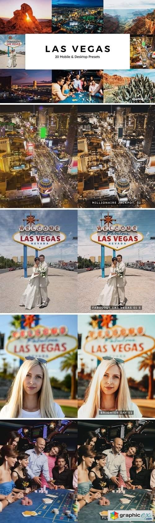20 Las Vegas Lightroom Presets & LUTs