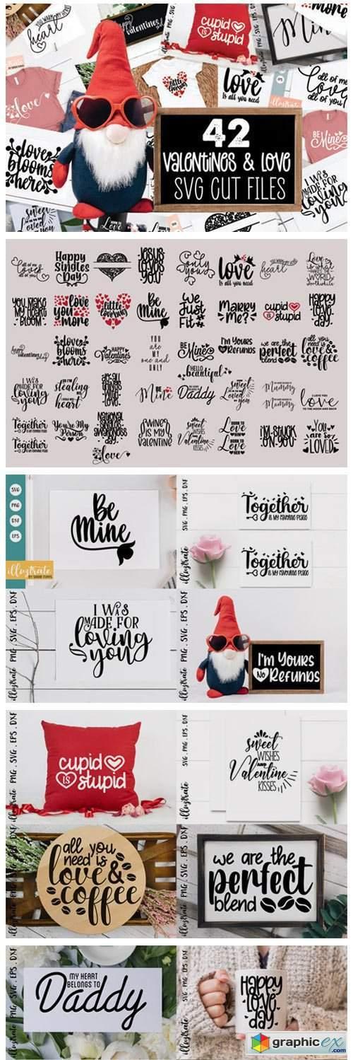 Valentines Day SVG Bundle | Love SVG