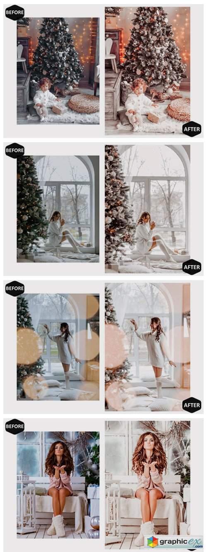 10 Glamour Xmas Photoshop Actions