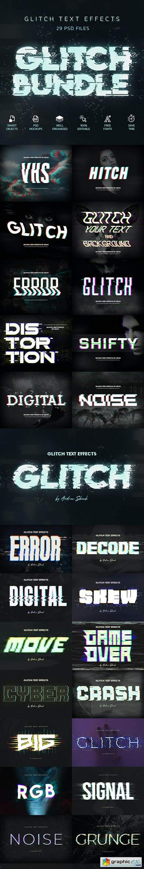 Glitch Effects Bundle