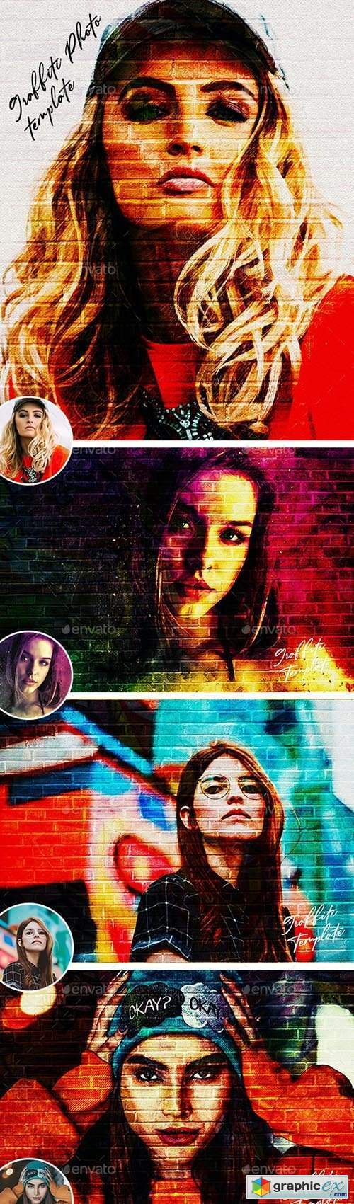 Graffiti Effects Photo Template