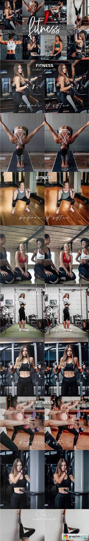 Fitness Lightroom Mobile Presets