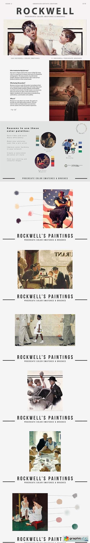 Rockwell's Art Procreate Brushes