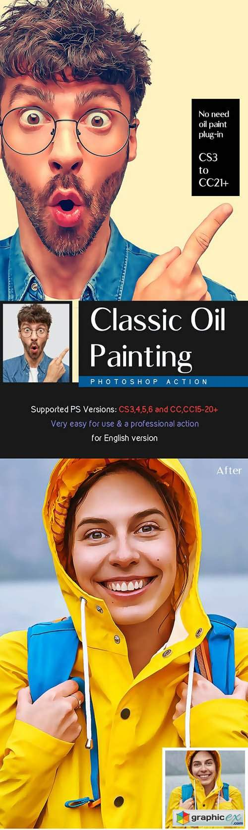 Classic Oil Painting Action