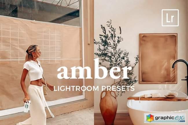 4 Lightroom Presets AMBER