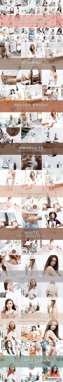 50 Bright Lightroom Preset Bundle