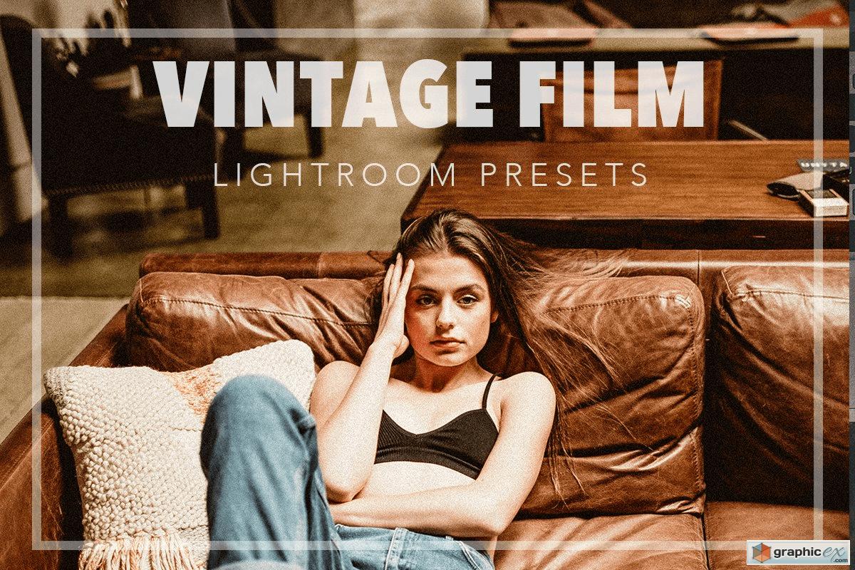 Vintage Film lightroom preset pack
