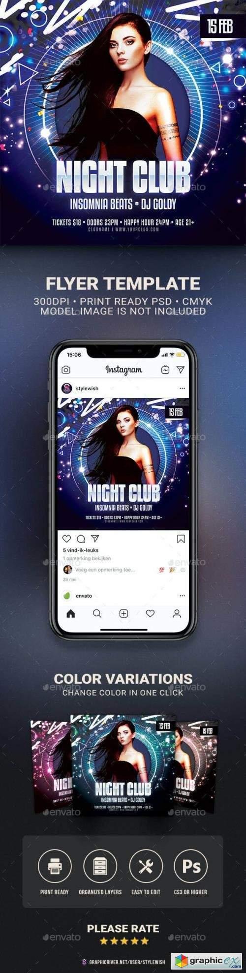 Night Club Flyer 29903308