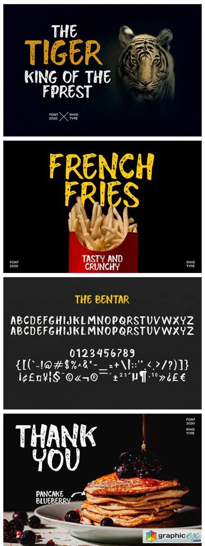 The Bentar Font