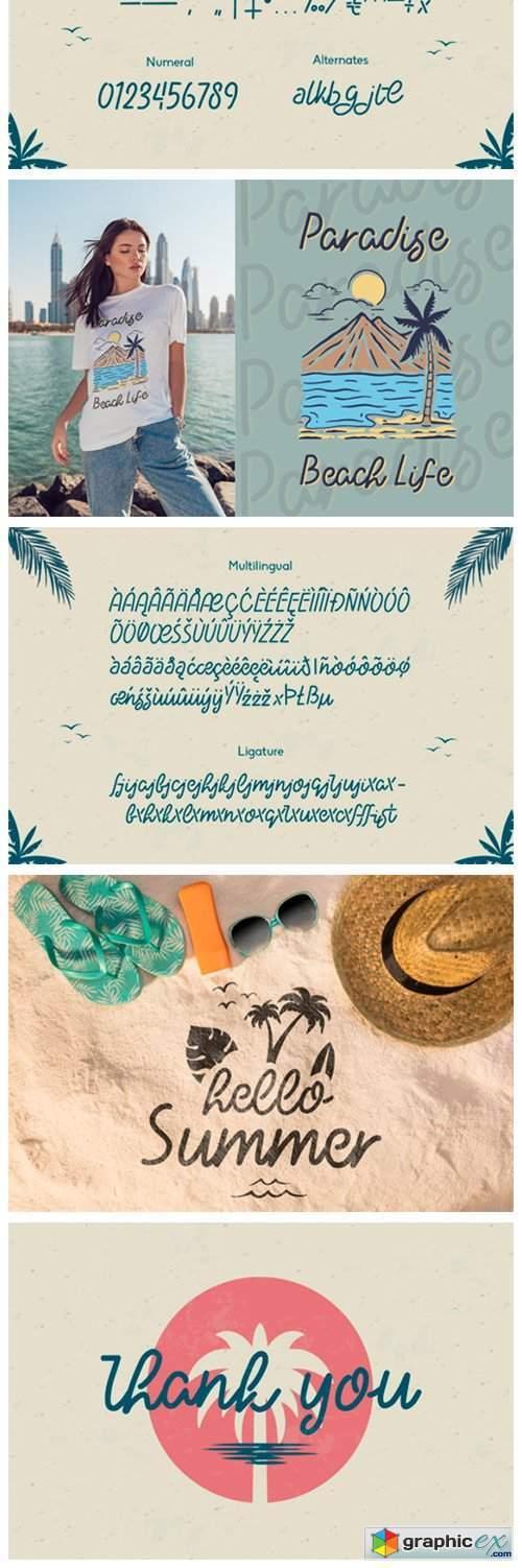 Haloha Font