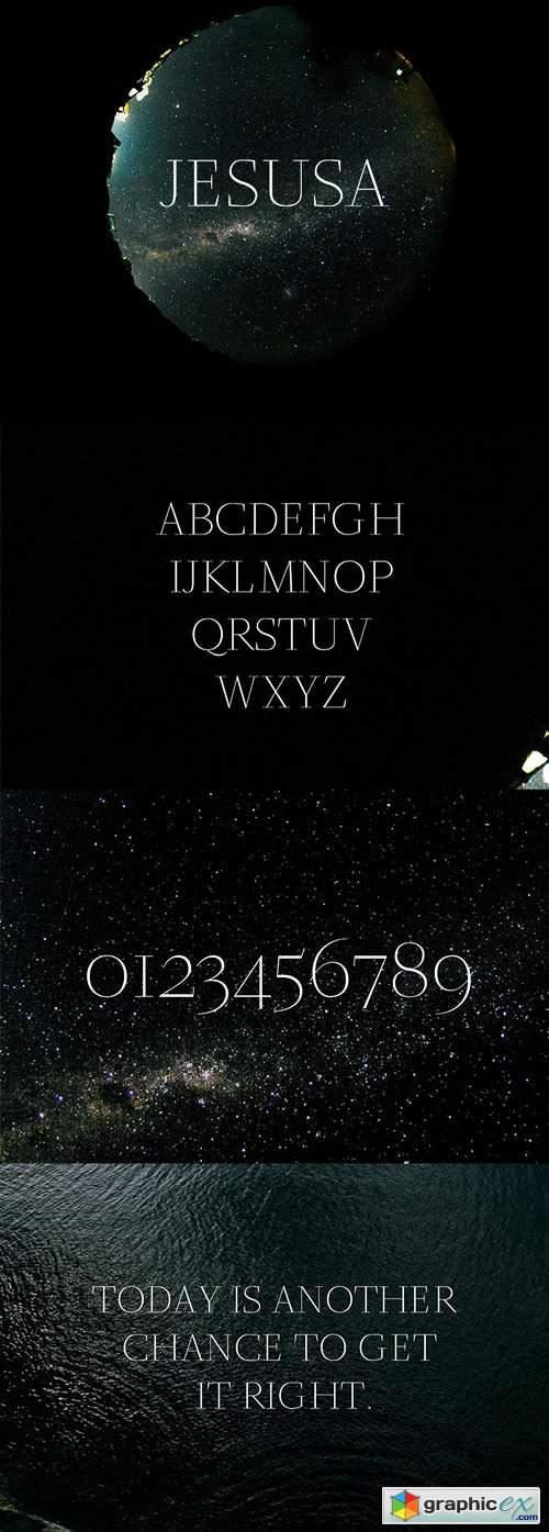 Jesusa Serif Font